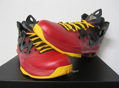 new style ca09e e4234 ... New Nike Men s Air Jordan Melo M9 Blk Red 551879-028 Basketball Shoes  Size