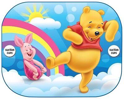 2x Disney Car Sun Shade UV Baby Children Kids Window Visor  Cars Peppa Winnie 7