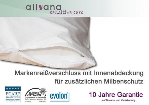 Allsana Matratzen Topper Bezug 180x200x8cm Milben Encasing