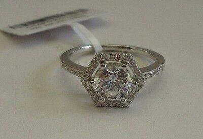 925 STERLING SILVER WEDDING RING W// 3 CT  LAB DIAMOND//SIZE 5,6,7,8,9// STUNNING!