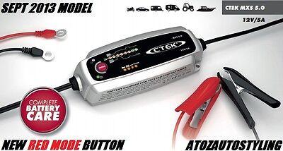 CTEK Multi MXS 5.0 12V SMART Fully Automatic  Battery Charger   UK PLUG 5