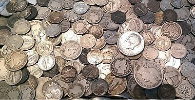 ☆ 50 Coins From Estate Collection ☆ Roman, World, Old Early US 1800s GOLD SILVER 11