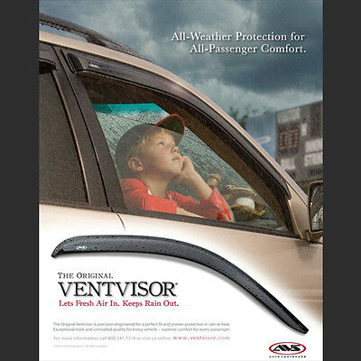 AVS Vent Visor Window Deflector Rain Guard for 1992-2000 Mitsubishi Montero