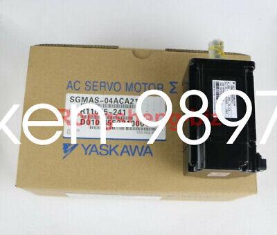 1PC NEW Yaskawa servo motor SGMAS-04ACA21 #HC 8