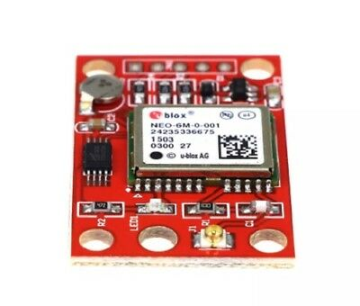 ARDUINO GPS NEO-6M GY-NEO6MV2 Module & Antenna Drone Raspberry Pi