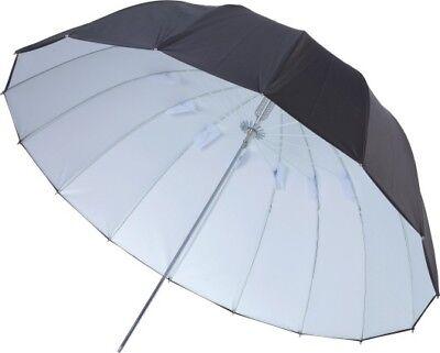 "41"" Black/White Umbrella Camera Flash Reflect 16 Panel Fiberglass Rib Rubberized 2"
