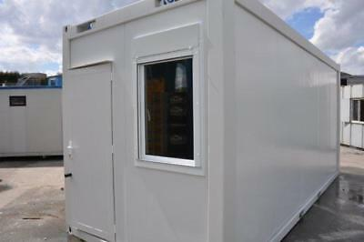 TF Jackson Portable Building New 20′ x 8′ Office with kitchenette, Ideal Canteen