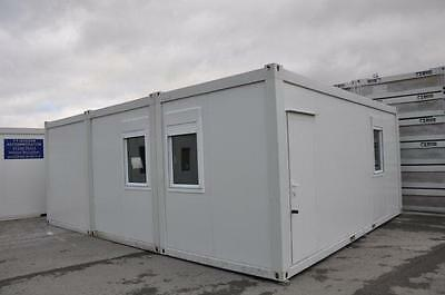 Portable Building New Modular Building 3 Bays 20' x 24' / 6m x 7.5m Site Office 3