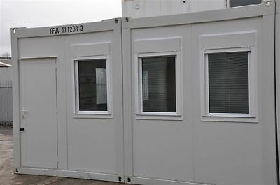 T F Jackson's Portable Building New  2 Bays 20' x 16' / 6m x 5m Site Office 5