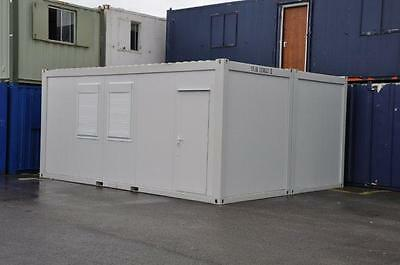 T F Jackson's Portable Building New  2 Bays 20' x 16' / 6m x 5m Site Office 6