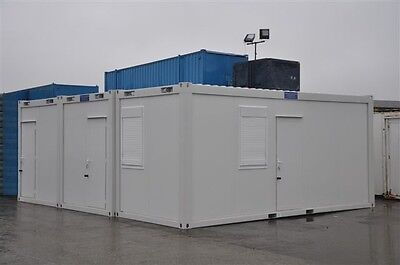 Portable Building New Modular Building 3 Bays 20' x 24' / 6m x 7.5m Site Office 4