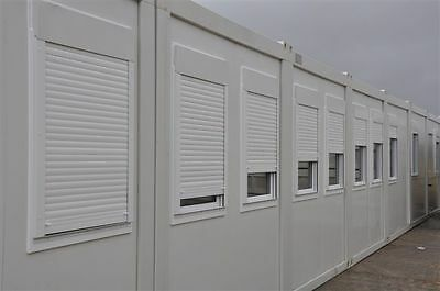 Portable Building Modular Office, 7 Bay 20' x 56' / 6m x 17.5m open plan office 3