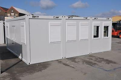 Portable Building New Modular Building 3 Bays 20' x 24' / 6m x 7.5m Site Office 2