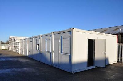 Portable Building Modular Office, 7 Bay 20' x 56' / 6m x 17.5m open plan office 4