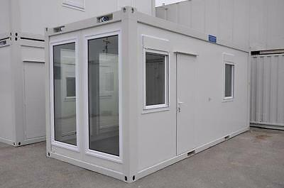 T F Jackson New Portable Building 20' x 8' Office with long windows