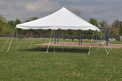 4 of 12 20 X 20 White Canopy Pole Tent Economy Party Event Tents 4 Sidewalls - SALE! & 20 X 20 White Canopy Pole Tent Economy Party Event Tents 4 ...