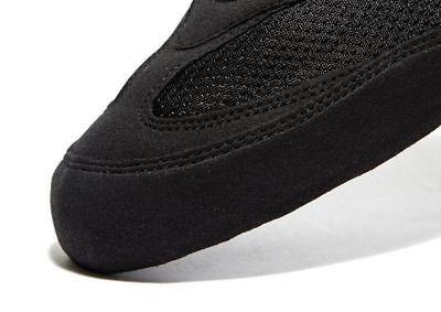 Details zu Adidas Boxer Stiefel Turnschuhe Schwarz Erwachsene Kinder Größe 4 5 6 7 8 9 10