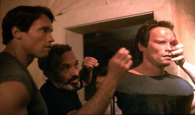 Arnold Schwarzenegger Terminator 1 SPFX Life Mask Bust 7