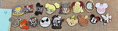 DISNEY TRADING PINS LOT OF 100- 100% TRADABLE - No-Duplicates Fast FREE shipping