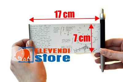 10 x STYLO TRICHE - Stylo bille avec bande de papier auto-enroulable 2