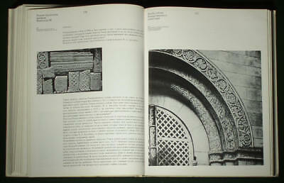 RARE BOOK Medieval Russian Stone Sculpture Architecture carving church art 7