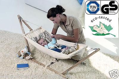 amazonas baby h ngematte babyh ngematte koala mit gestell. Black Bedroom Furniture Sets. Home Design Ideas