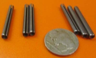 """18-8 Stainless Steel, Slotted Roll Spring Pin, .156"""" Dia x 1 3/8"""" Length, 50 pcs 4"""