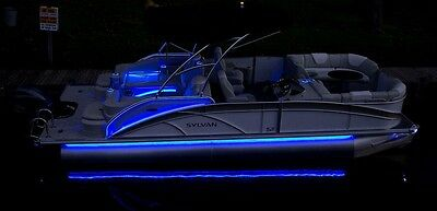 - LED Pontoon Boat Light Kit - uNDER fLOOR - all colors available BLUE
