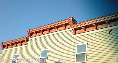 SALE Antique 1800s Metal Crown Molding Gable Pediment Fire Place Mantle Chic 5