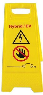 Electric / Hybrid Safety Sign & Glove Car Tool Kit - 1000 Volt EV Working Tools 2