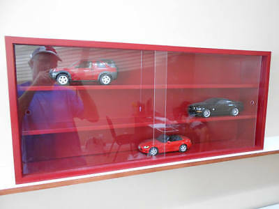 Display case cabinet shelves for collectibles cars (1/18) e others - 3CPR-1