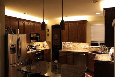 Kitchen Shelf Home Theater LED Multi Color Light Strip 5050 RGB 3 6 9