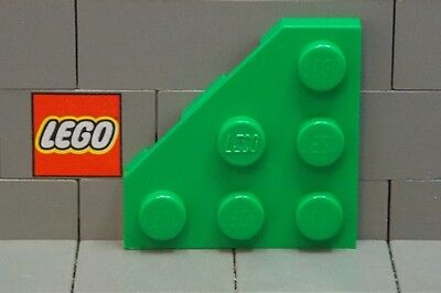 Choose Your Color **Four per Lot** #30357 Plate 3 x 3 Round Corner LEGO