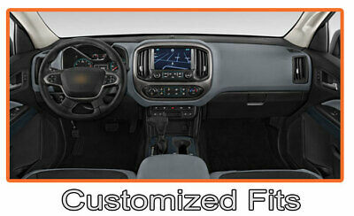 Chevrolet Volt 2016-2019 w// FCW Carpet Dash Board Cover Mat Black