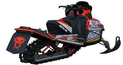 Arctic Cat X-Fire 2009-11 /_NCH Gray M-Series snowmobile Snow Flap M8
