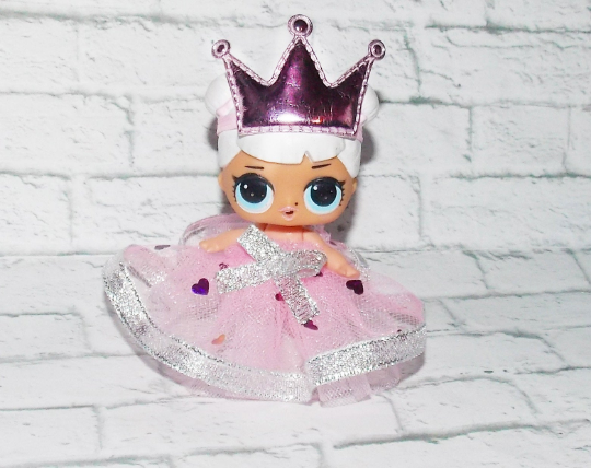LOL Doll Surprise Big Sister Clothes Dress and headband -Pretend Play, Holiday 2