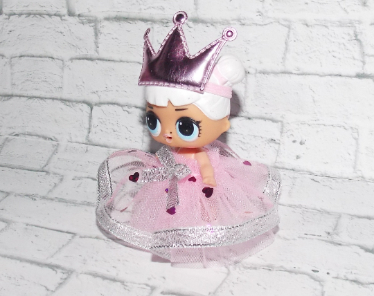 LOL Doll Surprise Big Sister Clothes Dress and headband -Pretend Play, Holiday 3