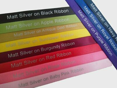15mm HIGH QUALITY PERSONALISED RIBBON BIRTHDAY, XMAS, EASTER, CHRISTENING & MORE 3