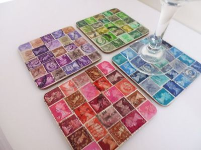 100 2nd Class Stamps Unfranked No Gum Off Paper blue colour Free post Good Price 6