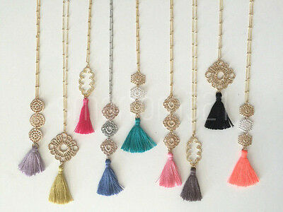 TASSELS 6cm Craft Jewellery Making Clothes Keyring Earring Necklace x 15 TS21