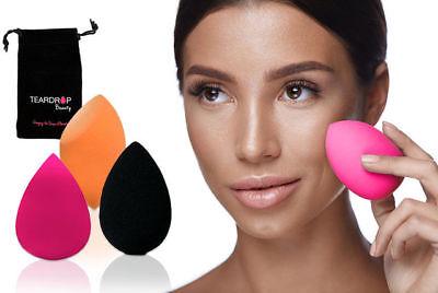 ORIGINAL Teardrop Beauty Make Up Blender Sponge Foundation Wedge Puff Applicator 2