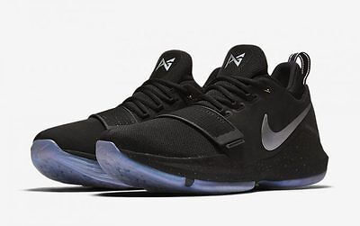 official photos 773f0 08f3a NIKE PG 1 TS Prototype size 8. Pre-Heat Shining Paul George. Black.  911082-099.