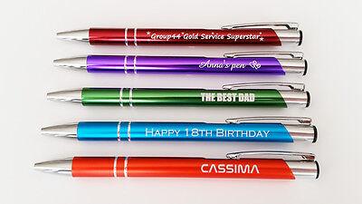Personalised Engraved Metal Ballpoint Pen - Promotional Pens 7