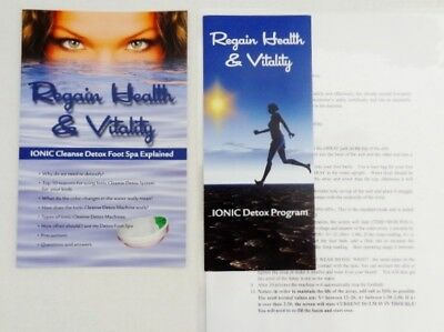 Detox Foot Spa Ionic Cleanse.  Detox Naturally  Save Money & Use Your Own Basin