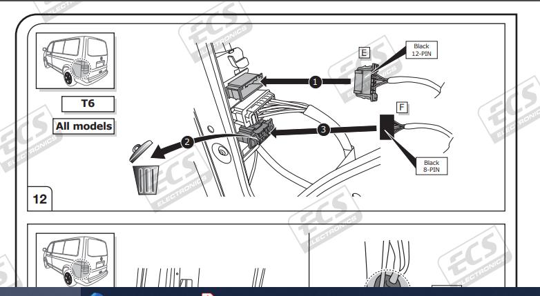 Vw T6 Tow Bar Wiring Transporter July, Vw Transporter T6 Tow Bar Wiring Diagram