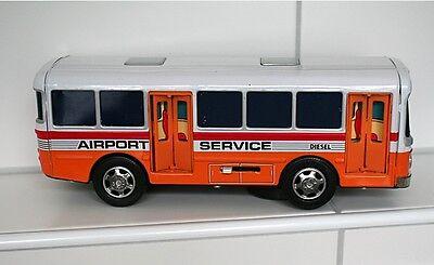Original Alps Airport Service Bus aus den 70ern, Blech, OVP, Super Zustand 5