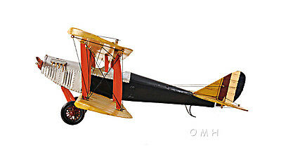 CURTIS JN-7H JENNY Barnstormer Biplane Metal Model 19