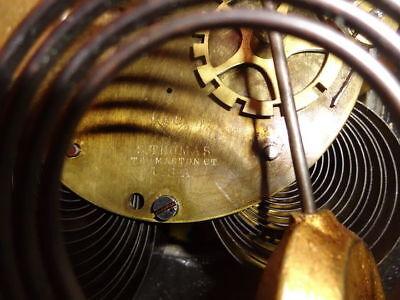 Antique 19th C. Seth Thomas Victorian Marble Mantel Clock 5