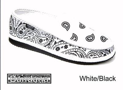 ... White Bandana Slippers House Shoes Trooper America Chicano Rap 2
