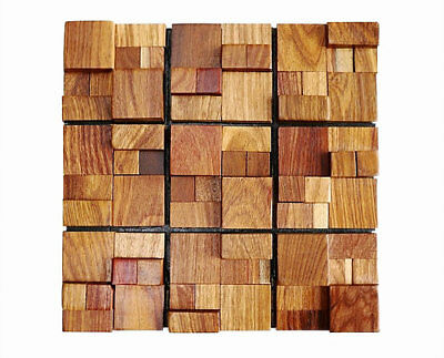 Wood Wall Tiles, Decorative Wall Tiles, Luxurious Wall Decor, 3D Wall Coverings 2
